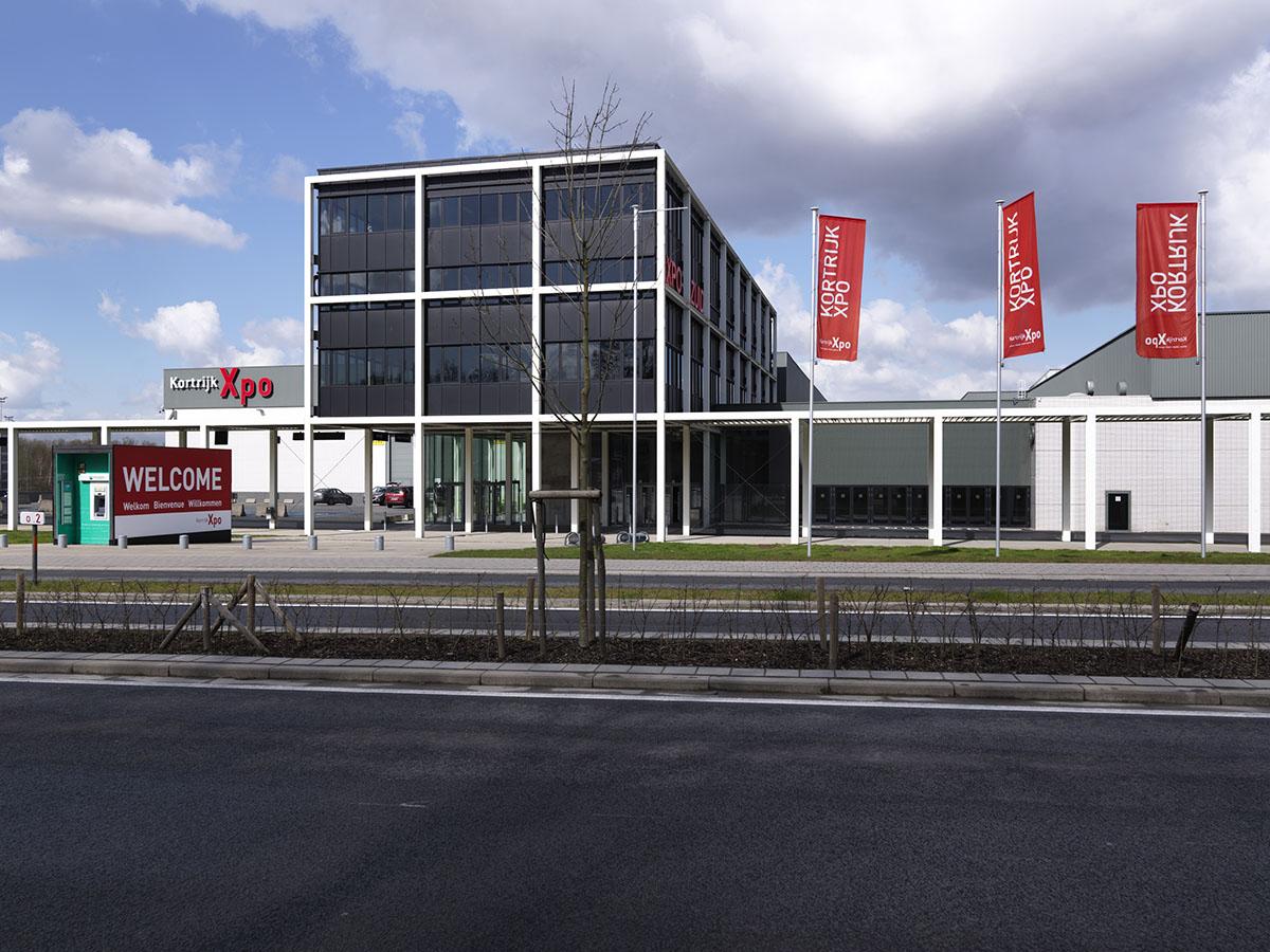 Het Kennedy Hotel ligt vlak bij Kortrijk Xpo.